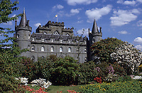 Europe/Grande-Bretagne/Ecosse/Argyll/Inveraray : Inveraray Castle le château  [Non destiné à un usage publicitaire - Not intended for an advertising use]