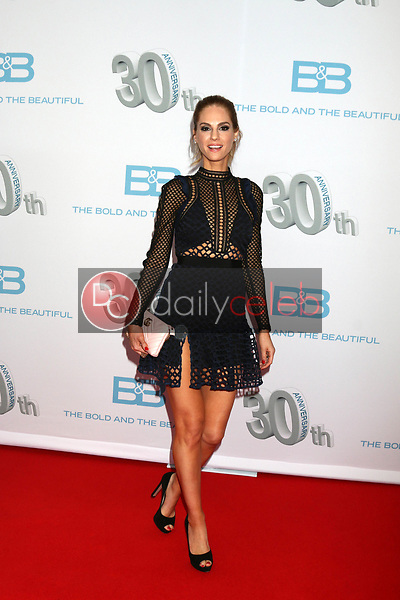 """Kelly Kruger<br /> at the """"The Bold and The Beautiful"""" 30th Anniversary Party, Clifton's Downtown, Los Angeles, CA 03-18-17<br /> David Edwards/DailyCeleb.com 818-249-4998"""