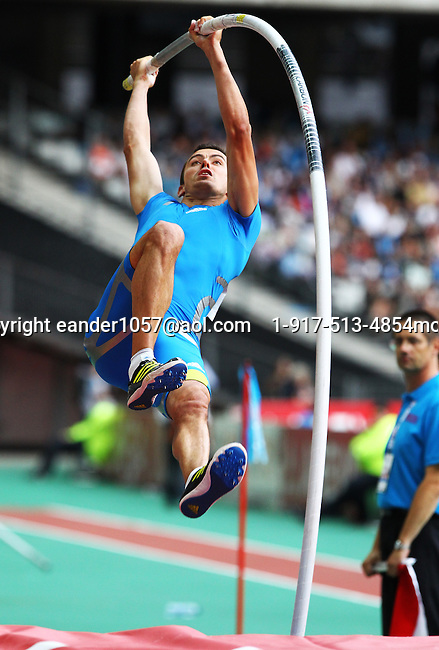 Jerome Clavier at the Samsung Diamond League. Paris,France Friday, July  16, 2010. photo by Errol Anderson.