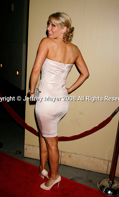 """HOLLYWOOD, CA. - October 07: Actress Kym Johnson arrives at the Padres Contra El Cancer's 8th Annual """"El Sueno De Esperanza"""" Benefit Gala at the Hollywood & Highland Center on October 7, 2008 in Hollywood, California."""