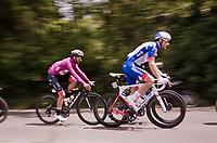 Maglia Ciclamino / points leader Fernando Gaviria (COL/UAE-Emirates)<br /> <br /> Stage 4: Orbetello to Frascati (228km)<br /> 102nd Giro d'Italia 2019<br /> <br /> ©kramon