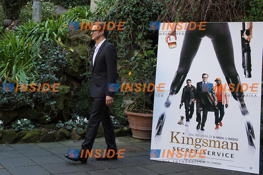 Colin Firth <br /> Roma 02-02-2015 Hotel De Russie <br /> Kingsman Photocall <br /> Foto Andrea Staccioli / Insidefoto