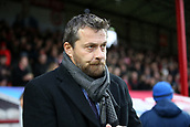 2nd December 2017, Griffen Park, Brentford, London; EFL Championship football, Brentford versus Fulham; Fulham Manager Slavisa Jokanovic looks on from the touchline before kick off
