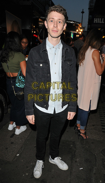 Matt Edmondson attends the Professor Green's &quot;Lucky&quot; book launch party, Lights of Soho, Brewer Street, London, England, UK, on Thursday 10 September 2015. <br /> CAP/CAN<br /> &copy;Can Nguyen/Capital Pictures