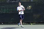23 April 2015: Josh Hagar. The Notre Dame University Fighting Irish played the Georgia Tech University Ramblin' Wreck at the Cary Tennis Park in Cary, North Carolina in a 2015 NCAA Division I Men's Tennis and Atlantic Coast Conference Tournament First Round match. Georgia Tech won the match 4-0.