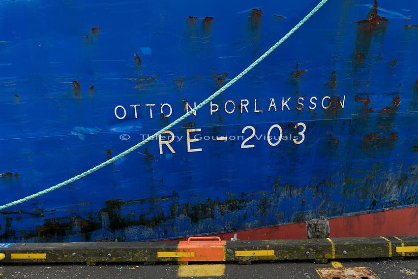 Reykjavik Harbor.<br /> Reykjavik, Iceland.<br /> Photo by Thierry Gourjon.<br /> 2018
