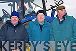 COLD: Bareing the cold at the Ballyheigue Ploughing competition on Sunday l-r: William and John Day and George Nagle (Castlemaine)................