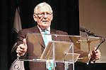 Len Cariou speaks at the John Jay Justice Award ceremony, April 5 2011.