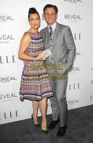 20 October  2014 - Beverly Hills, California - Bellamy Young, Tony Goldwyn. 2014 ELLE Women In Hollywood Awards held at the Four Seasons Hotel.  <br /> CAP/ADM/FS<br /> &copy;Faye Sadou/AdMedia/Capital Pictures