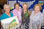 Celebrating 100yrs of the Irish Countrywomen's Association last Thursday night with the Abbeyfeale guild where an exhibition of art, craft and historical memorabilia was opened in the local library, pictured l-r: Rita Horgan (Vice President), Ann Gabbett(Limerick Federation President), Mary Lane and Tess Collins...Peggy O'Neill: 087- 9478848