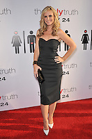 "Bonnie Somerville at the premiere of her new movie ""The Ugly Truth"" at the Cinerama Dome, Hollywood..July 16, 2009  Los Angeles, CA.Picture: Paul Smith / Featureflash"