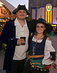 Hunter and Hannah during the Pirate Crawl in downtown Reno on Saturday, August 17, 2019.