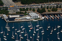 aerial photograph Chicago Yacht Club, Chicago, Illinois