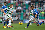 Celtic v St Johnstone...29.08.15  SPFL   Celtic Park<br /> Scott Allan and David Wotherspoon<br /> Picture by Graeme Hart.<br /> Copyright Perthshire Picture Agency<br /> Tel: 01738 623350  Mobile: 07990 594431