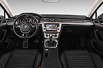 Stock photo of straight dashboard view of 2016 Volkswagen Passat Alltrack 5 Door Wagon Dashboard