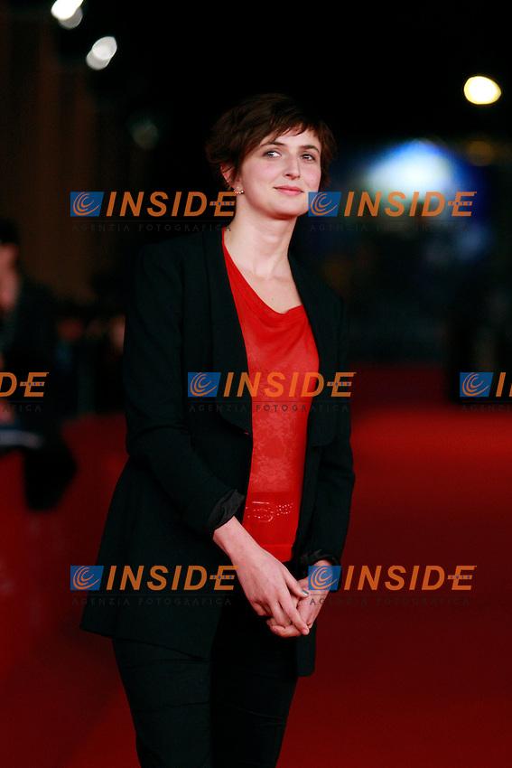 Alice Rohrwacher.Roma 09/11/2012 Festiva Internazionale del Film di Roma. Roma Film Festival..La giuria - The jury. Red Carpet.Photo Samantha Zucchi Insidefoto
