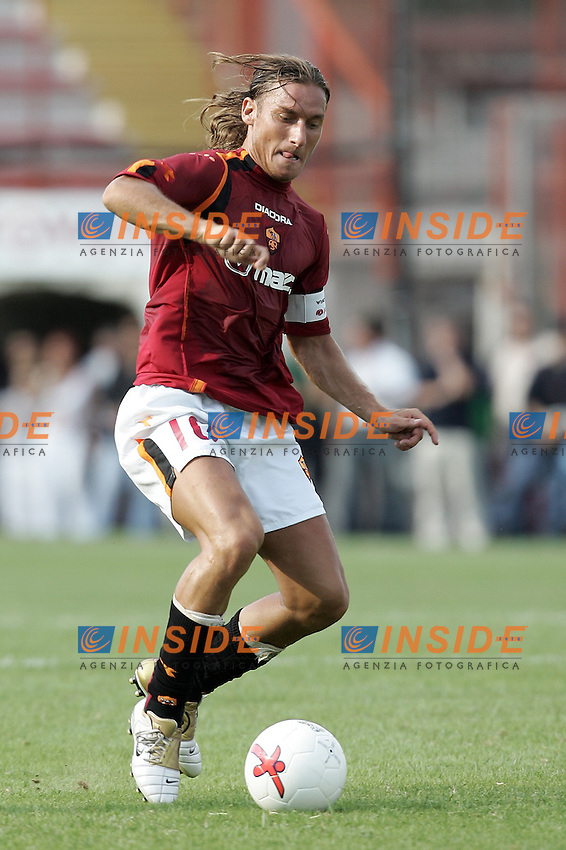 Perugia 25/8/2004 Perugia Roma 2-1 Francesco Totti (Roma)<br /> Foto Andrea Staccioli Insidefoto