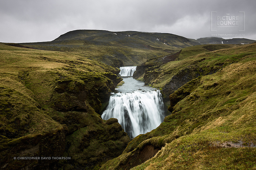 Above Skógáfoss (waterfall) in South Iceland the Skógá River winds up through the hills and features a myriad of amazing waterfalls. Here New Zealand's Wanaka-based landscape and fine art photographer Christopher David Thompson found himself hiking through the rain and mist to find them...