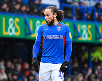 Marcus Harness of Portsmouth during Portsmouth vs Shrewsbury Town, Sky Bet EFL League 1 Football at Fratton Park on 15th February 2020