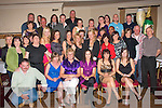 5585-5589.---------.Farewell.--------.Staff from Dunnes Stores,The Horan Centre,Boherbue Tralee,held a farewell party for 5 members who are leaving,in the Kerin's O'Rahilly's GAA clubhouse last Saturday night,those leaving are seated L-R Roseanne Campbell,Mary O'Mahony,Jennifer Bradley,Julie O'Brien and Deirdre Hannifin.