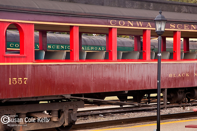 Conway Scenic Railroad in Conway, White Mountains, NH