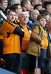 Huddersfield Town 1 Wolverhampton Wanderers 0, 27/08/2016. John Smith's Stadium, Championship. Wolves fans. Photo by Paul Thompson.
