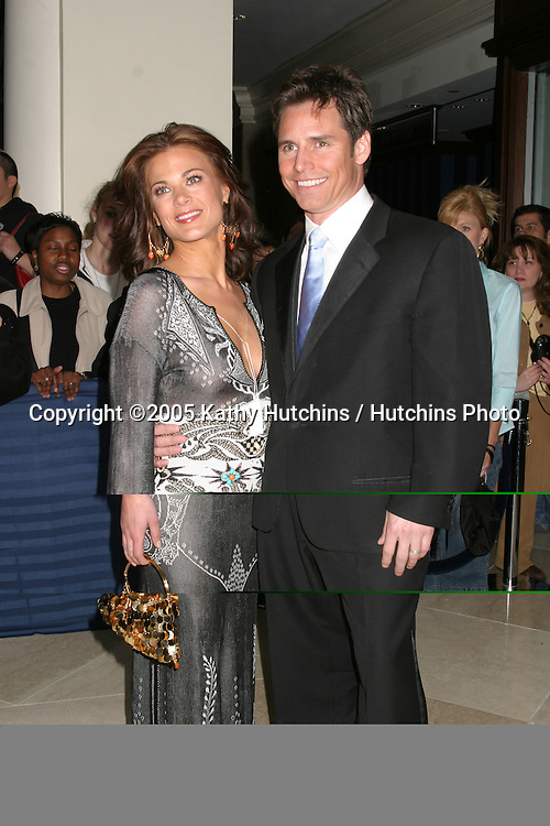 Gina Tognoni.Dan Gauthier.32nd Annual Daytime Emmys.Radio City Music Hall.New York City, NY.May 20, 2005.©2005 Kathy Hutchins / Hutchins Photo...