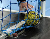 Handball 1. Bundesliga Damen / Frauen - HC Leipzig (HCL) : FA (Frischauf) Göppingen - Arena Leipzig - im Bild:  Feature - HAndball / Ball /  im Tor/ Torverhältnis / Niederlage. Foto: Norman Rembarz..