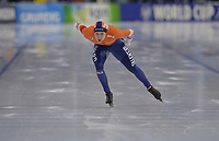 SCHAATSEN: HEERENVEEN: 15-12-2018, ISU World Cup, 1500m Men Division B, Marcel Bosker (NED), ©foto Martin de Jong