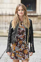 Cressida Bonas arrives for the VIP preview of the Royal Academy of Arts Summer Exhibition 2016
