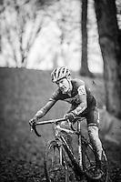 Picture by Russell Ellis/russellis.co.uk/SWpix.com - 13/12/2015 - Cycling - Cyclo-Cross - Nick Craig.
