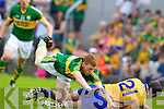 Pa Kilkenny, Kerry in action against  , Clare in the Munster Senior Championship Semi Final in Cusack Park, Ennis on Sunday.