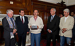 26.7.2012. Eskisehirspor Civic Reception,Perth Council Offices...COPYRIGHT: Perthshire Picture Agency..Tel. 01738 623350 / 07775 852112.