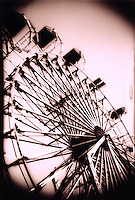 Vintage ferris wheel.