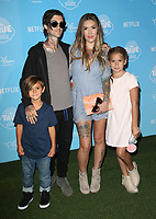 LOS ANGELES, CA - AUGUST 10: Sam Loza, Kyle Loza, Casey Patridge and Sadie Loza at the Netflix Series Premiere Of True And The Rainbow Kingdom at the Pacific Theatres at The Grove in Los Angeles, California on August 10, 2017. Credit: Faye Sadou/MediaPunch