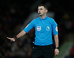 Referee Michael Oliver during the Premier League match at Bramall Lane, Sheffield. Picture date: 10th January 2020. Picture credit should read: Simon Bellis/Sportimage