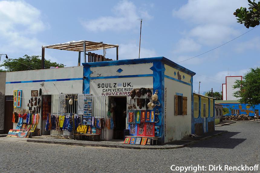 Souvenirgeschäft in Palmeira, Sal, Kapverden, Afrika