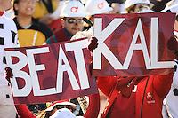 2 December 2006: Student fans hold up a sign during Stanford's 26-17 loss to Cal in the 109th Big Game at Memorial Stadium in Berkeley, CA.