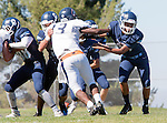 Palos Verdes, CA 09/24/16 - James Lewis (Rolling Hills #13) in action during the non-conference CIF 8-Man Football  game between Rolling Hills Prep and Chadwick at Chadwick.
