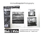 A ten-image portfolio by Michael Knapstein was selected as a winner in the Black & White Magazine Portfolio Competition.