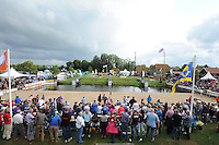 FIERLJEPPEN: IJLST: Watte Abma Skânsen, 25-08-2012, Fierljepferiening Drylts e.o., Nederlands kampioenschap, overzicht schansen, ©foto Martin de Jong