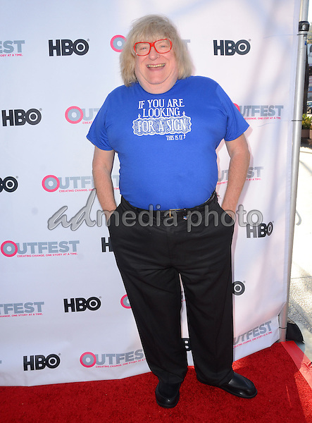 """11 July 2015 - West Hollywood, California - Bruce Vilanch. Arrivals for the 2015 Outfest Los Angeles LGBT Film Festival screening of """"Tab Hunter Confidential"""" held at The DGA Theater. Photo Credit: Birdie Thompson/AdMedia"""