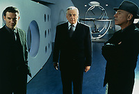 Gattaca (1997) <br /> Alan Arkin, Loren Dean &amp; Gore Vidal<br /> *Filmstill - Editorial Use Only*<br /> CAP/KFS<br /> Image supplied by Capital Pictures