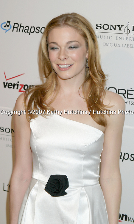 LeAnn Rimes.Clive Davis's Annual Pre-Grammy Party.Beverly Hilton Hotel.Los Angeles, CA.February 10, 2007.©2007 Kathy Hutchins / Hutchins Photo.