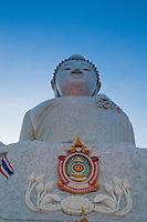 The Big Buddha monument at dawn on Phuket, Thailand