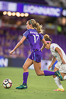 Orlando, FL - Saturday July 15, 2017: Dani Weatherholt during a regular season National Women's Soccer League (NWSL) match between the Orlando Pride and FC Kansas City at Orlando City Stadium.