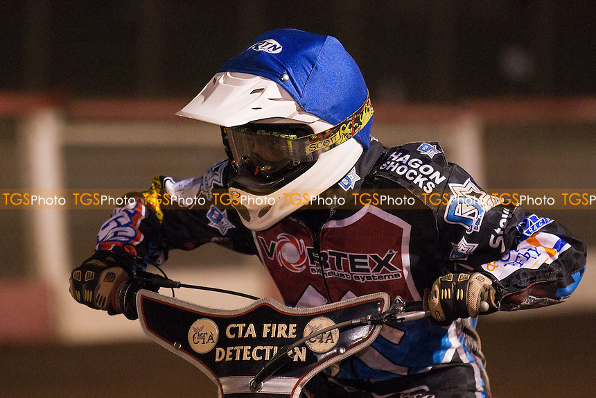 - Lakeside Hammers vs Belle Vue Aces - Elite League Speedway at Arena Essex - 15/08/14 - MANDATORY CREDIT: Ray Lawrence/TGSPHOTO - Self billing applies where appropriate - contact@tgsphoto.co.uk - NO UNPAID USE