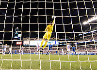 PHILADELPHIA, PA - JUNE 30: Zack Steffen #1 makes a save during a game between Curaçao and USMNT at Lincoln Financial Field on June 30, 2019 in Philadelphia, Pennsylvania.