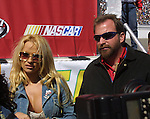 Las Vegas Motor Speedway UAW DAIMLER CHYSLER 400 Actrees PAMALA ANDERSON is the quest of honor