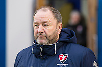 Gary Johnson, Manager of Cheltenham Town during Colchester United vs Cheltenham Town, Sky Bet EFL League 2 Football at the Weston Homes Community Stadium on 6th January 2018